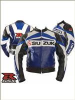 Suzuk GsXR Motorcycle leather Jacket