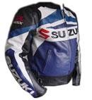 SUZUKI Brand GSXR-Motorbike Leather Jacket