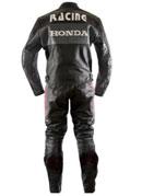 New stylish Honda Black Motorbike Leather Suit