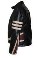 new  x-men style black soft aniline leather jacket