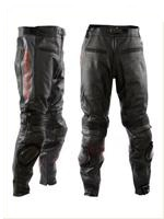 Honda Black Motorcycle Leather Trouser