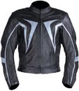 New Mens Motorbike Cow Hide Leather Jacket