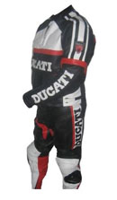 New Stylish DUCATI Brand  Motorycle Racing Leather Suit
