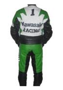 """New Stylish """"Kawasaki Racing 1"""" Motorbike Leather"""