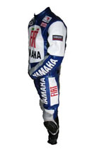 "Stylish ""YAMAHA FIAT""  Motorbike Leather Suit"