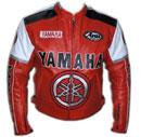 Motorbike Leather Jacket YAMAHA Brand