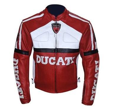 ducati biker racing leather jacket
