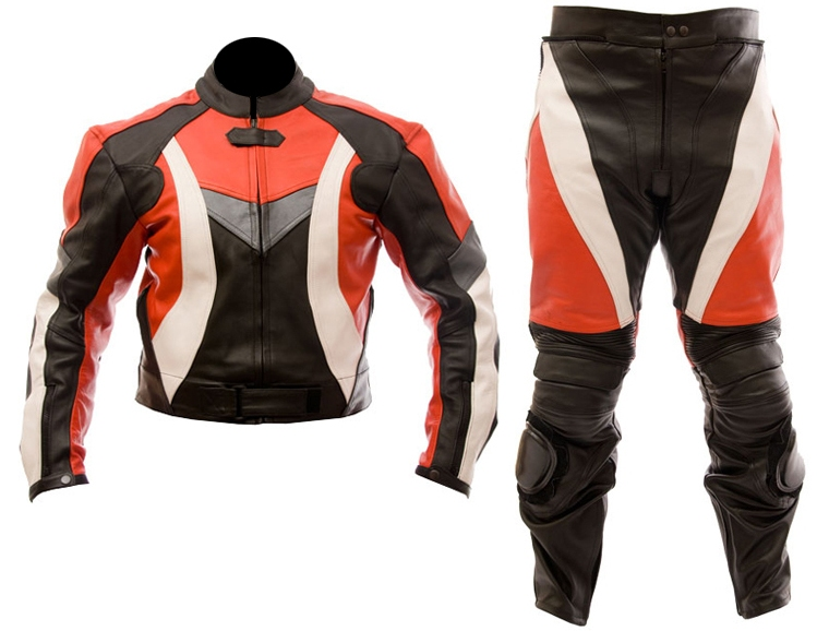 MEN/'S MOTORBIKE COWHIDE LEATHER SUIT MOTORCYCLE SUIT JACKET TROUSER 1 or 2-PIECE