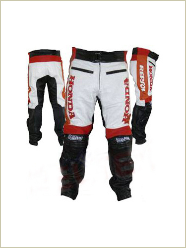 honda repsol motorcycle leather pant