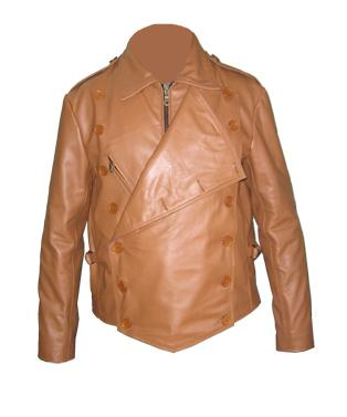 mens fashion soft leather jacket