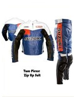 Motul Shoei Suzuki Racing Leather Suit