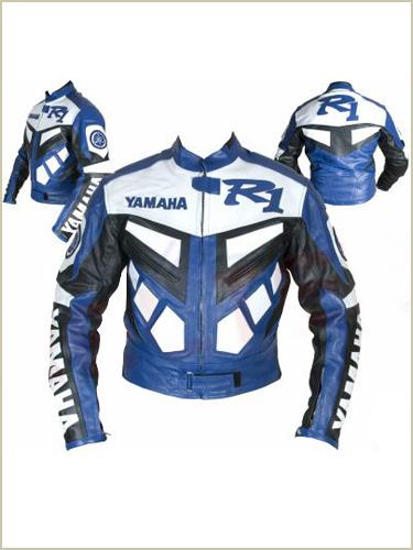 yamaha r1 motorcycle  leather jacket