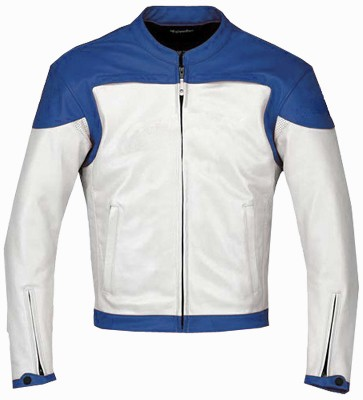 blue color motorcycle jacket