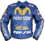 Honda Movistar Telefunica Repsol Leather Jacket