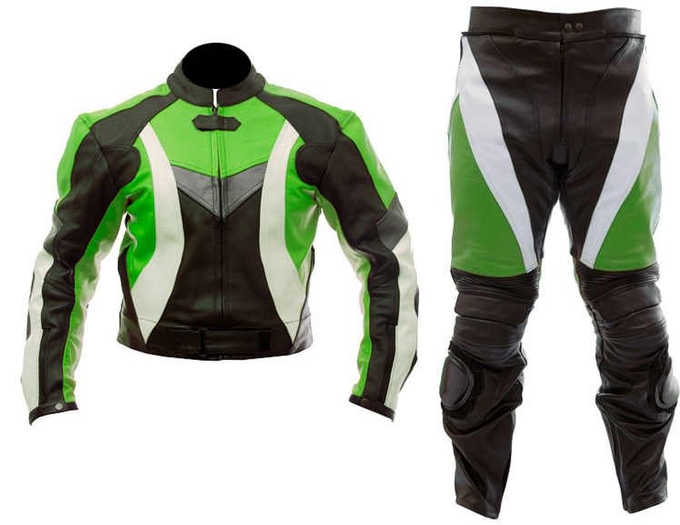 motoribke racing 2 two piece leather suit