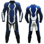 one 1 piece motorbike racing leather suit